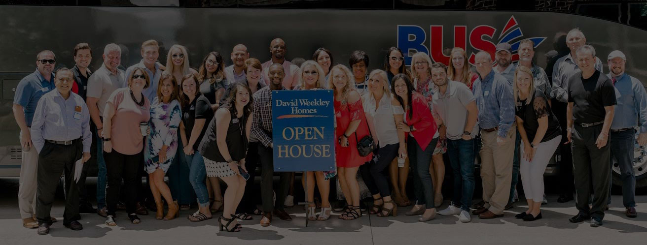 Welcome to Service First Bus Tour #4!  Featuring….David Weekly Homes!